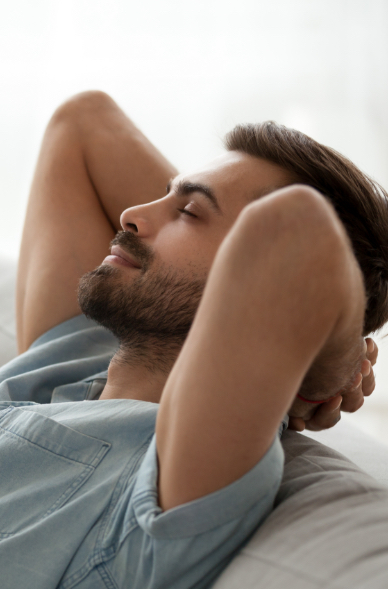 Relaxed Man