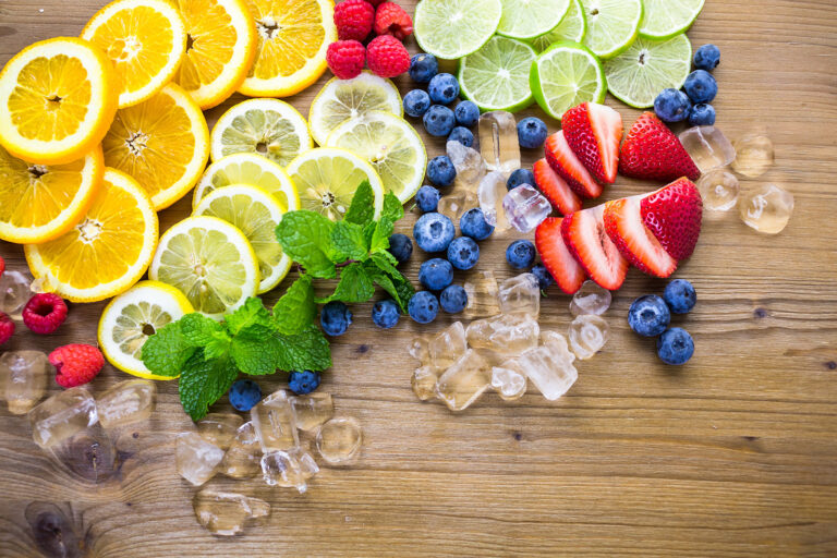 fruits with vitamins that help manage health with vitamin infusions